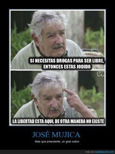 La libertad según José Mujica - Más que presidente, un gran sabio