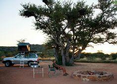 Beautiful camping at Rustig Toko Lodge north of Kamanjab Namibia, Campsite, Safari, Africa, Holiday, Travel, Beautiful, Camping, Vacations
