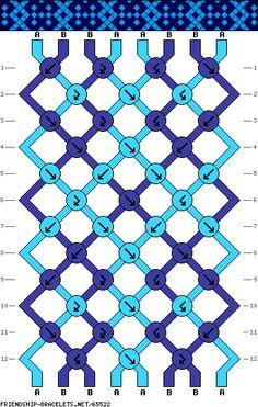 8 strings 12 rows 2 colors