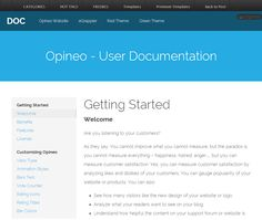 FREE Product Documentation HTML Template: StockDocs