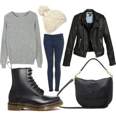 http://www.lookingwear.com/category/doc-martens/ No purse no jacket makes this outfit mighty fine