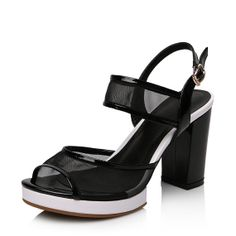 Fashion women sandals high heels full grain leather by LadiesShoes, $66.00