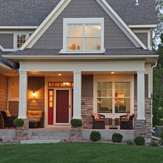 9 ways to get cozy outside this fall siding colorsexterior - Exterior Color Design