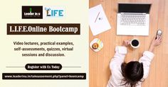 Join our Leadership Bootcamp. Build your leadership skills and incorporate in your business. Visit website.