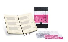 How to Plan your Travel Outfits: Moleskine Style Journal For those that love the feel of a written diary, this Moleskin Style Journal may be the perfect item for you.