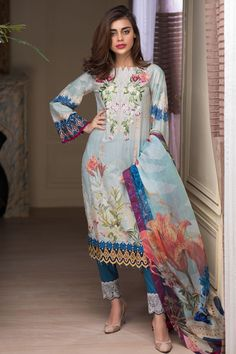 Get this ravishing Printed Pakistani unstitched dress at a best price by Firdous  Malhar Exclusive 2018#summer #summercollection #springcollection #spring #readytowear #pretwear #unstitched #online #linen #lawn #lawncollection #linen #linencollection #chiffon #cotton #embroidered #printed #digital #partywear #lahore #karachi #islamabad #newyork #london #pakistan #pakistani #indian #alkaram #breakout #zeen #khaadi #sanasafinaz #limelight #nishat #khaddar #daraz #gulahmed #2018 #blackfriday…