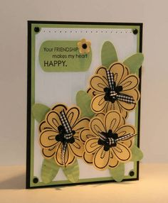 Friendship Blooms - Stampin' Up