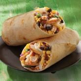 Jamaican jerk chicken wrap!!