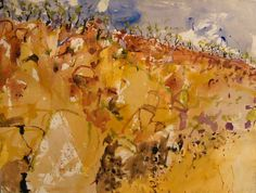 Tim Olsen Gallery - About Luke Sciberras Abstract Landscape Painting, Landscape Art, Landscape Paintings, Watercolour Painting, Abstract Art, Australian Painters, Australian Artists, Watercolor Sunflower, Contemporary Landscape