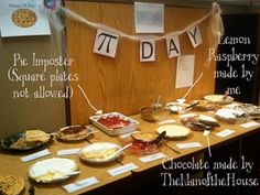 Pi Day ideas for March 14 (3.14)!