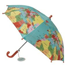 Chapéu de chuva de adulto mapa mundo