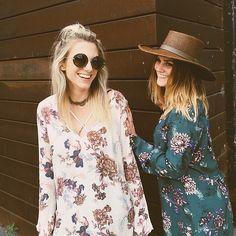floral tunics #freepeople