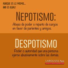 Nepotismo/despotismo