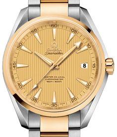 231.20.42.21.08.001 Omega Aqua Terra 150m Master Co-Axial 41,5 mm - швейцарские мужские наручные часы - золотые, желтые