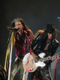 Steven Tyler and Joe Perry. ☀