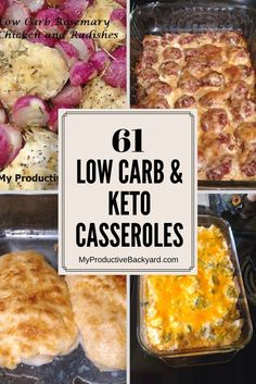 61 Low Carb Keto Casseroles