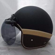 Helm (Retro) Bogo 53 Krem   Lazada Indonesia