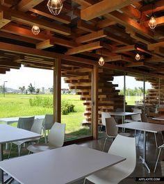 Café Kureon // Kengo Kuma and Associates | Afflante.com