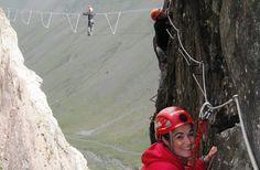 Coldback Mountain via ferrata - World's 10 Best Via Ferrata Routes | Fodor's Travel
