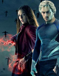 Scarlet Witch & Quicksilver Age of Ultron