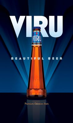 Viru Beer. Awesome bottle and ad. Not sure about the beer