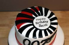 The 10 best cib miles 0047 james bond casino royale birthday party james bond cake idea client wants the cake to say happy birthday on thecheapjerseys Images