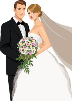 The bride and groom's wedding material vector painted embrace Vector and PNG Wedding Art, Wedding Album, Wedding Images, Wedding Groom, Wedding Couples, Wedding Pictures, Wedding Illustration, Couple Illustration, Dress Illustration