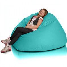 Relax XL babzsákfotel - türkiz Bean Bag Chair, Relax, Big, Furniture, Home Decor, Decoration Home, Room Decor, Beanbag Chair, Home Furnishings