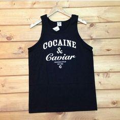 #CrooksandCastles #Cocaine&Caviar tanks www.houseoftreli.com