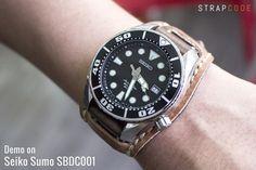 BUND STRAPS SUITE ON SEIKO SUMO SBDC001  #Seiko #seikolover #seikolove #seikosumo #sbdc001 #silicone #siliconestrap #watch #watchstrap #watchband #men #menfashion