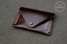 Coin Purse Leather Coin Purse Leather business by NorthJourney