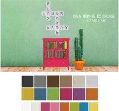 LinaCherie: IKEA Hemnes bookcase & Scrabble art • Sims 4 Downloads