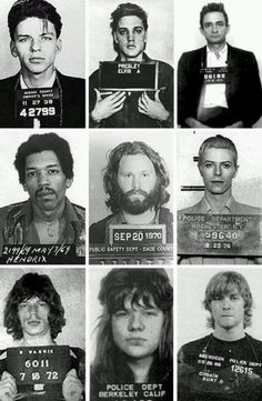 Love all these ppl and they went to jail and are still icons.. Shows to prove that ppl are human and make mistakes!