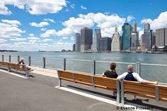 One of my favorite places to hang out...Brooklyn Pier