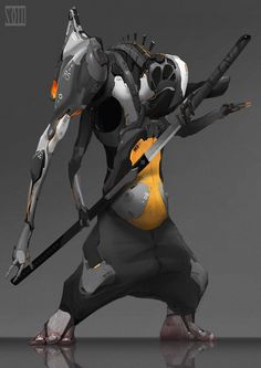 ArtStation - Machine Ninja, moxuan zhang