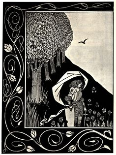 Beardsley 1872-1898, Aubrey, England How a Devil in a woman s likeness would have tempted Sir Bors