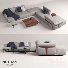 Natuzzi HERMAN sofa Modern Tv Cabinet, Tv Cabinet Design, Sofa Furniture, Furniture Design, Sofa Home, Modular Sofa, Sectional Sofa, Couches, Upholstery