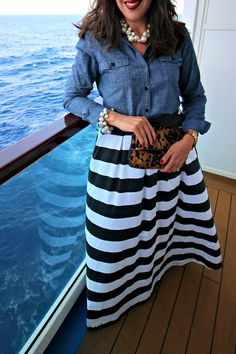 Dimples and Tangles: WHAT I WORE TO GO SAILING WITH THE SCOTTS