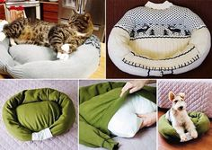 DIY PET BED LOVE THIS PLEASE LIKE