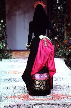 Christian Lacroix: Haute Couture Fall 1996