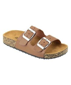 Loving this Chestnut Glory Slip On Sandal on #zulily! #zulilyfinds