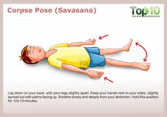 Corpse Pose yoga