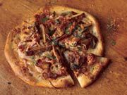 Sausage, Red Onion, and Wild Mushroom Pizza