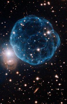 Nébuleuse planétaire K61 Crédit : Gemini Observatory/AURA 2011.07.25