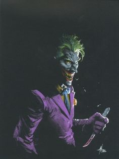 The Joker by Gabriele Dell'Otto