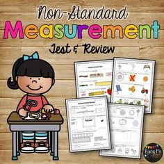 This is a great test and review for a Non-Standard measurement. There is a review, test, and answer keys within. There are color and black line versions of both the review and the test.Click to see full description. #Nonstandard #measurement #math #temperature #area #capacity #weight #tests #centers #review #basic #operations #kindergarten #1st #first #2nd #second #3rd #third #grade #homeschool Nonstandard Measurement, Measurement Kindergarten, Kindergarten Math, Third Grade Math, Grade 1, Second Grade, Math Stations, Math Centers, First Grade Worksheets