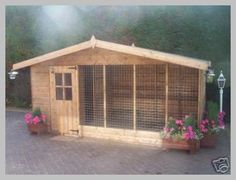 Catio Ideas Large Outdoor Cat Enclosure & have had numerous enquiries lately about keeping cats in outdoor cat & Metal Dog Kennel, Dog Kennel Designs, Kennel Ideas, Outdoor Cat Enclosure, Dog House Plans, Cabin Plans, Cat Cages, Ferret Cage, Cool Dog Houses
