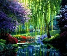 How insanely beautiful! Monet's Garden, Giverny, France.