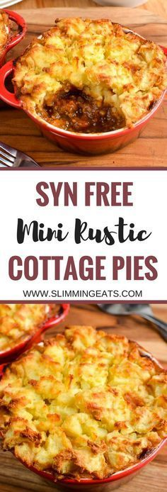 Slimming Eats Syn Free Mini Cottage Pies - gluten free, dairy free, paleo, Slimming World and Weight Watchers friendly astuce recette minceur girl world world recipes world snacks Slimming World Dinners, Slimming World Recipes Syn Free, Slimming World Diet, Slimming Eats, Slimming World Minced Beef Recipes, Slimming World Cottage Pie, Slimming Word, Slimming World Breakfast, Slimming World Lasagne