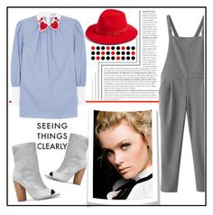 """""""SEEING THINGS CLEARLY!!!"""" by kskafida ❤ liked on Polyvore featuring WithChic, VIVETTA and Brixton"""